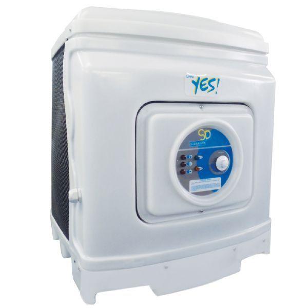 Aquecedor - Trocador de Calor sd80 para Piscina até 62 mil litros Sodramar