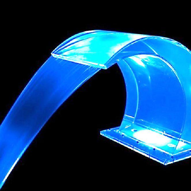 Cascata Victória Acrylic Sodramar Iluminação RGB