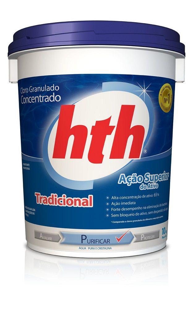 Cloro hth Tradicional - 10kg