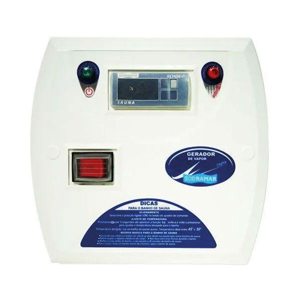 Comando Digital para Sauna Vapor Sodramar de 6 kw e 9 kw