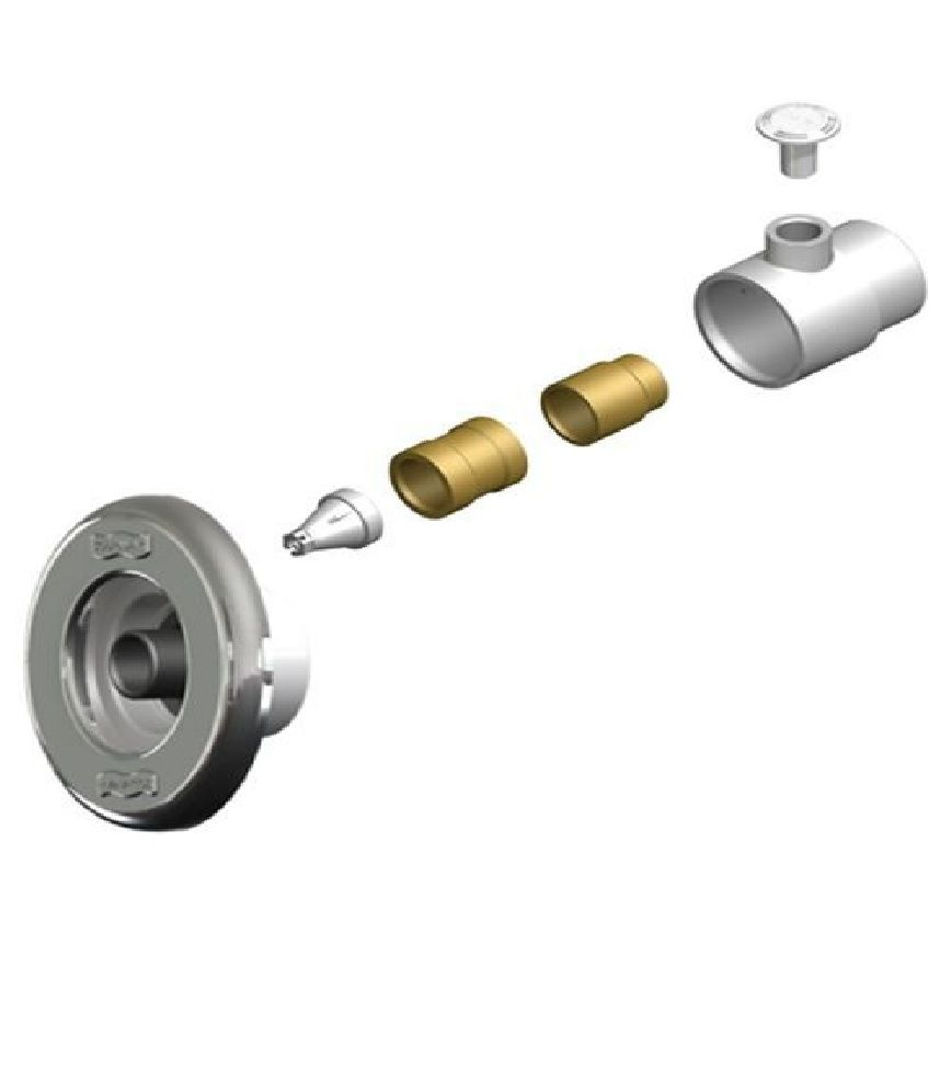 Dispositivo de Hidromassagem 1 1/2 Tubo 50mm Piscina Alvenaria Sodramar Pratic