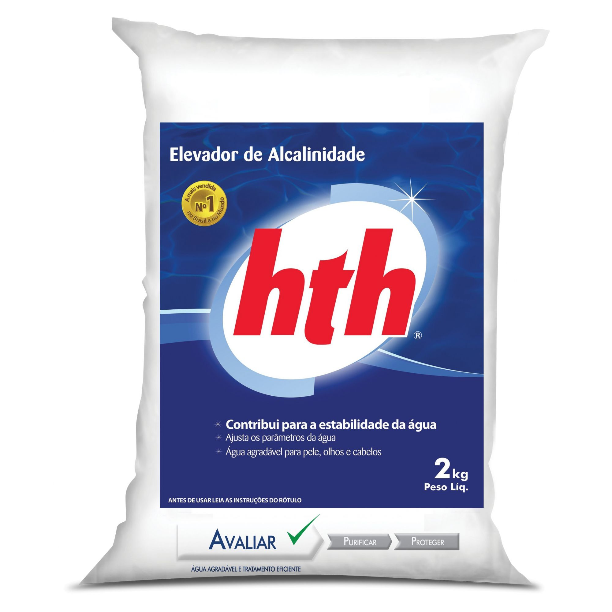 Elevador de Alcalinidade hth para Piscina 2kg
