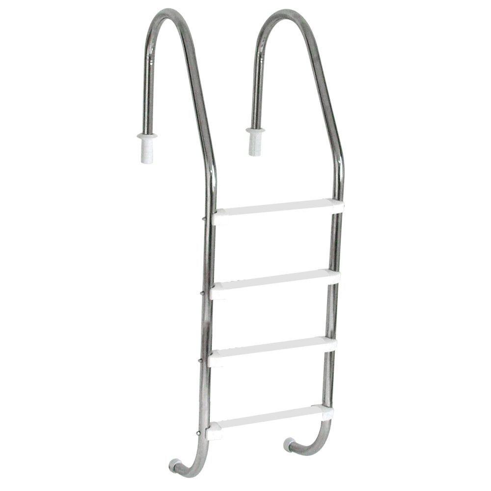 Escada para Piscina Sodramar 1 1/2 com 4 Degraus abs