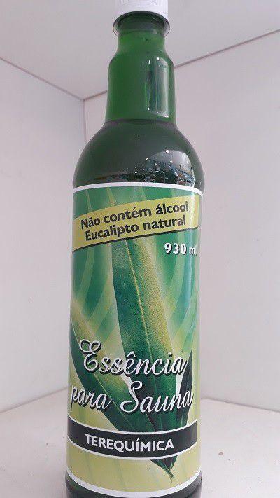 Essência para Sauna Eucalipto Natural sem álcool 930ml