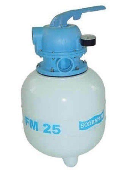 Filtro fm25 para Piscinas até 19 mil litros Sodramar