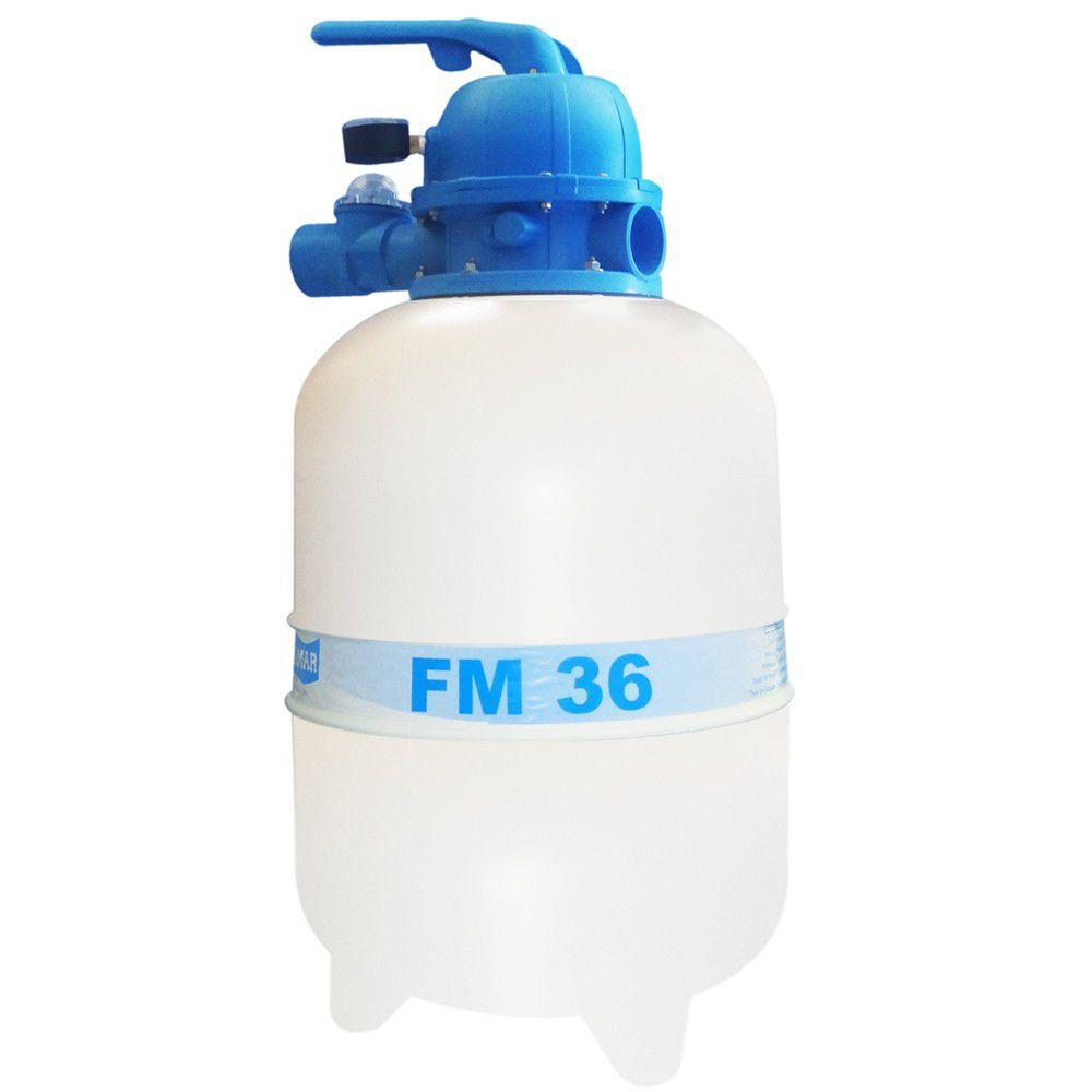 Filtro fm36 para Piscina até 40 mil litros Sodramar