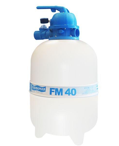 Filtro fm40 para Piscinas até 50 mil litros Sodramar