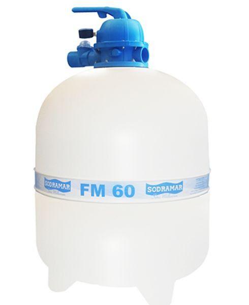 Filtro fm60 para Piscina até 113 mil litros Sodramar