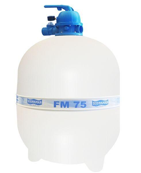 Filtro fm75 para Piscina até 176 mil litros Sodramar