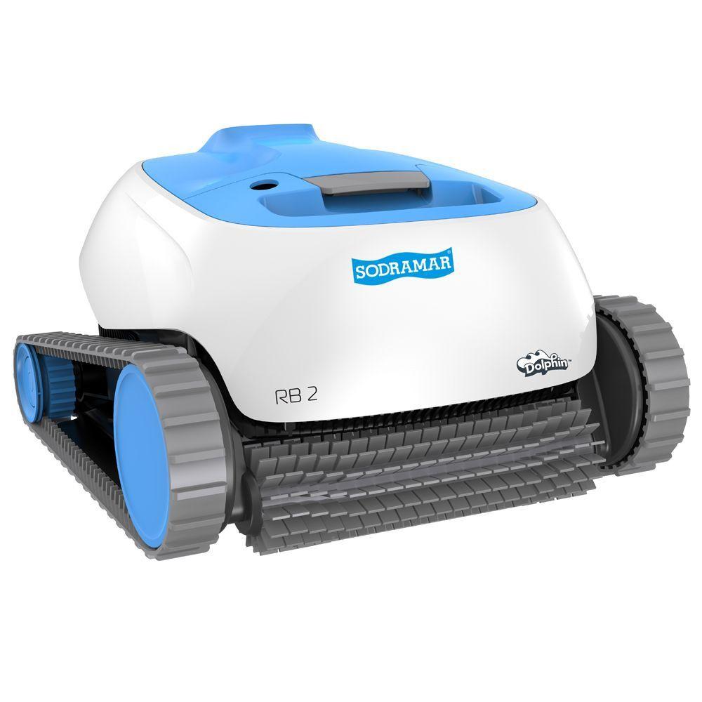Robô RB2 para limpeza de piscinas de até 12m Sodramar