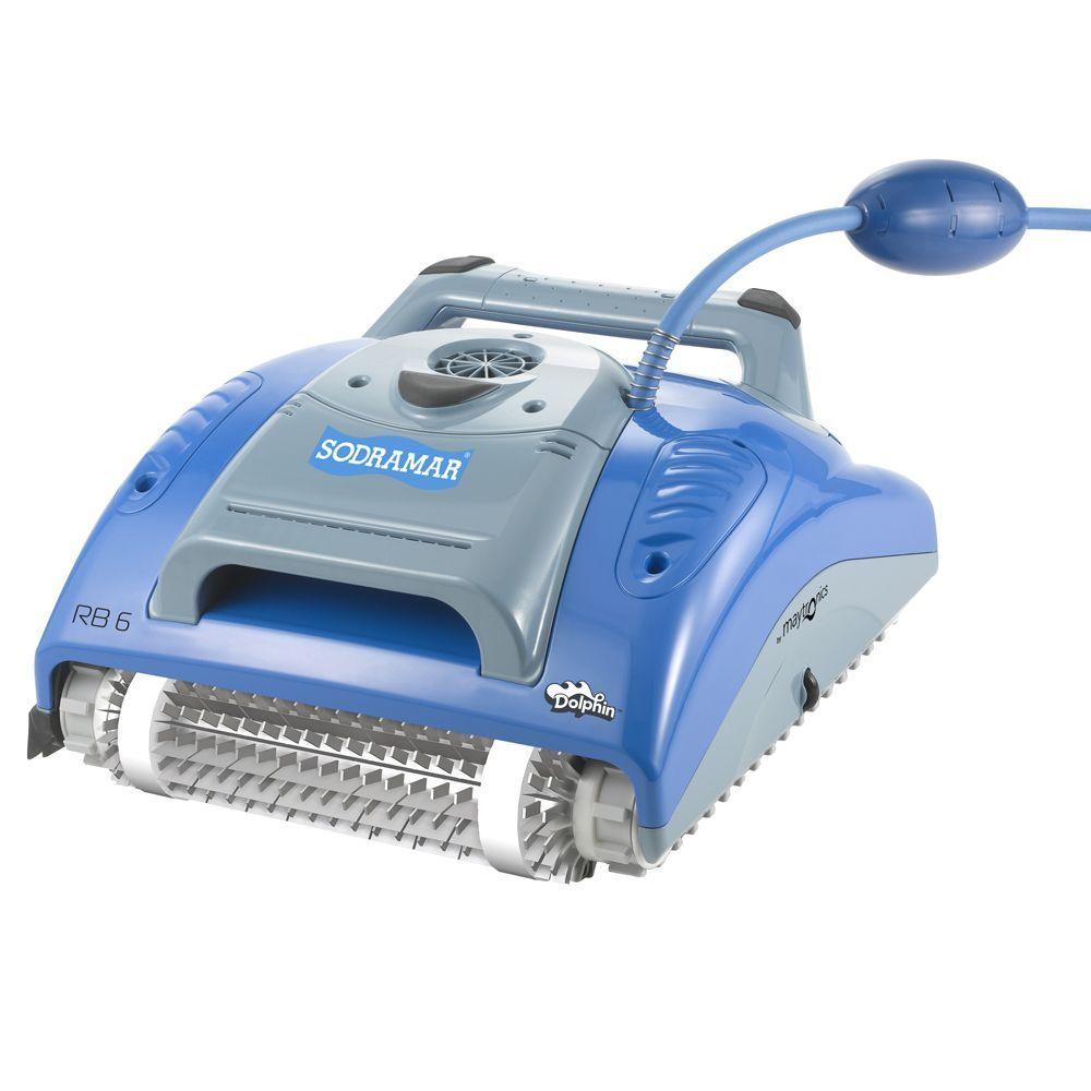 Robô RB6 para Limpeza de Piscinas até 12m Sodramar