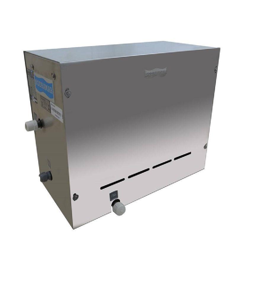 Sauna a Vapor Steam Inox Sodramar 12kw até 18m³