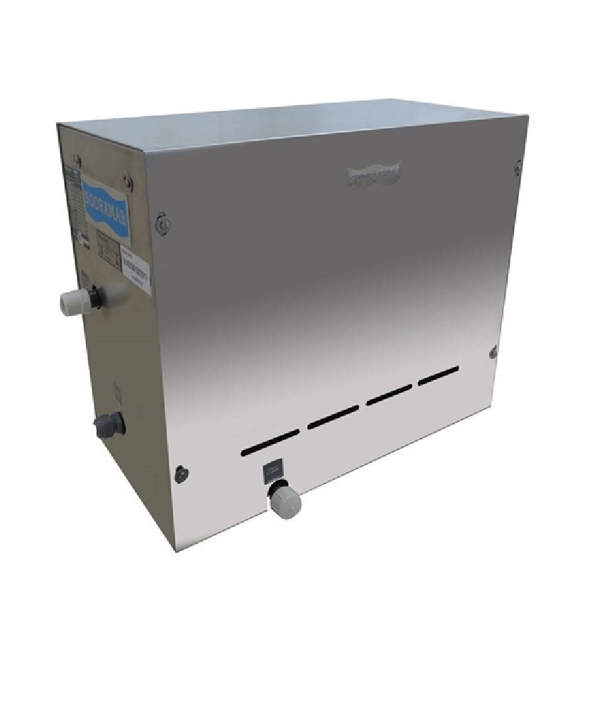 Sauna a Vapor Steam Inox Sodramar 6kw até 6m³