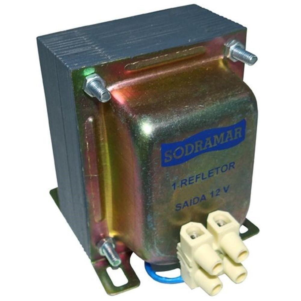Transformador Monocromático para Refletor de Piscina tr1 60w Sodramar