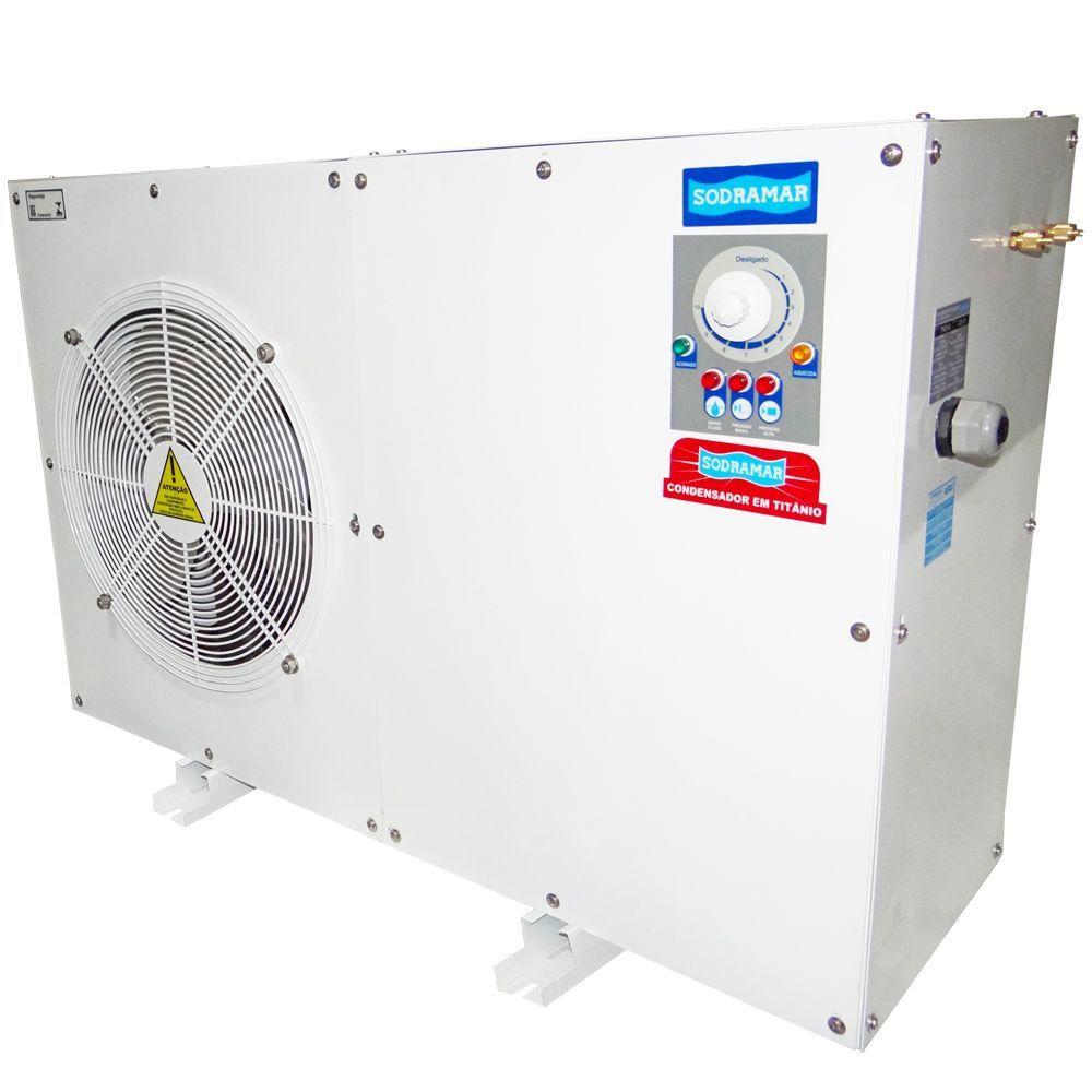 Trocador de Calor Horizontal para Piscina até 39 mil litros th40 Sodramar