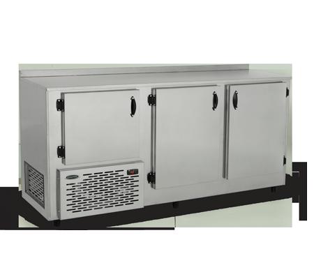 Balcão Refrigerado Encosto Inox 620L 1,90 mt BRE190 Conservex