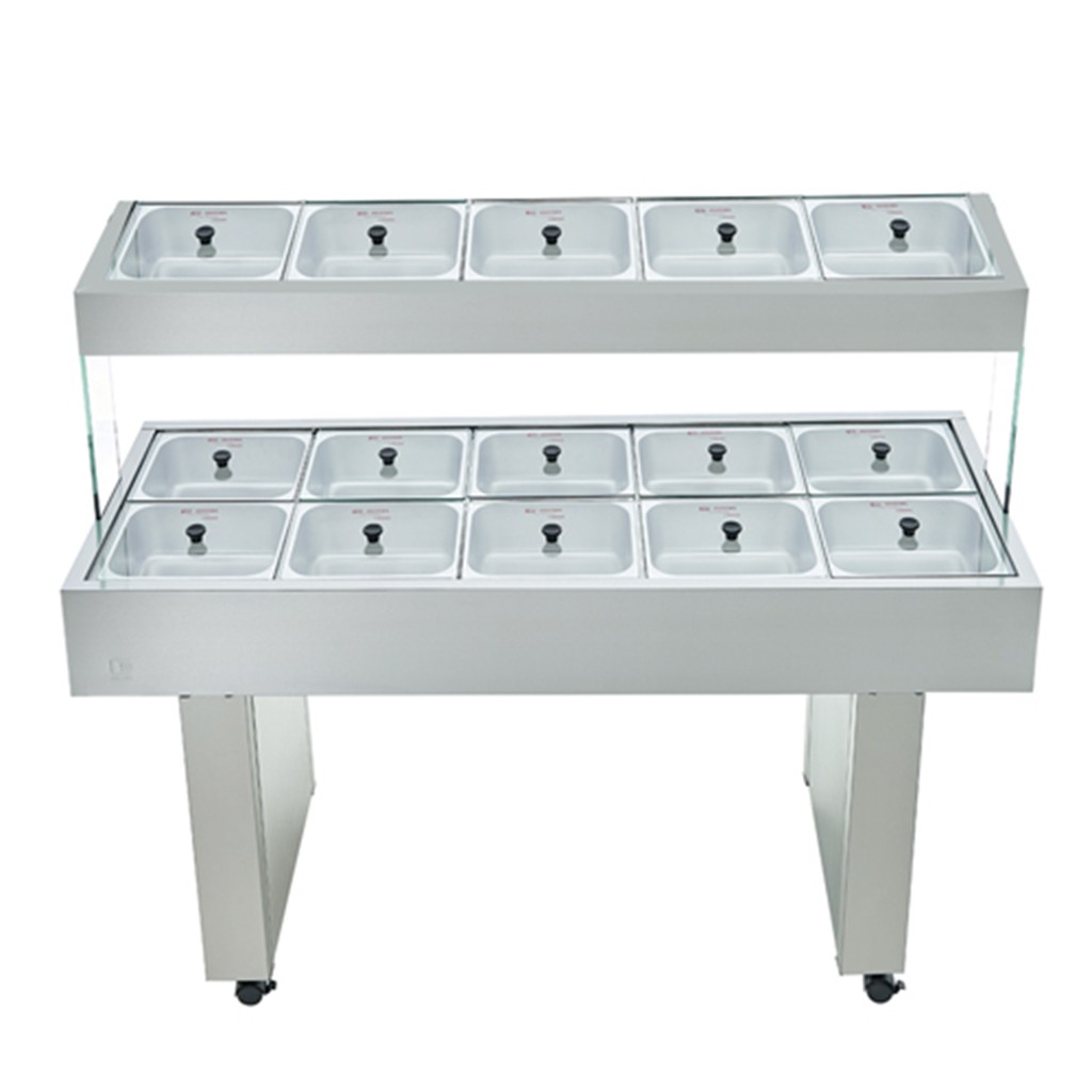Buffet Duplo 10 Quentes e 5 Frios BBMD-10
