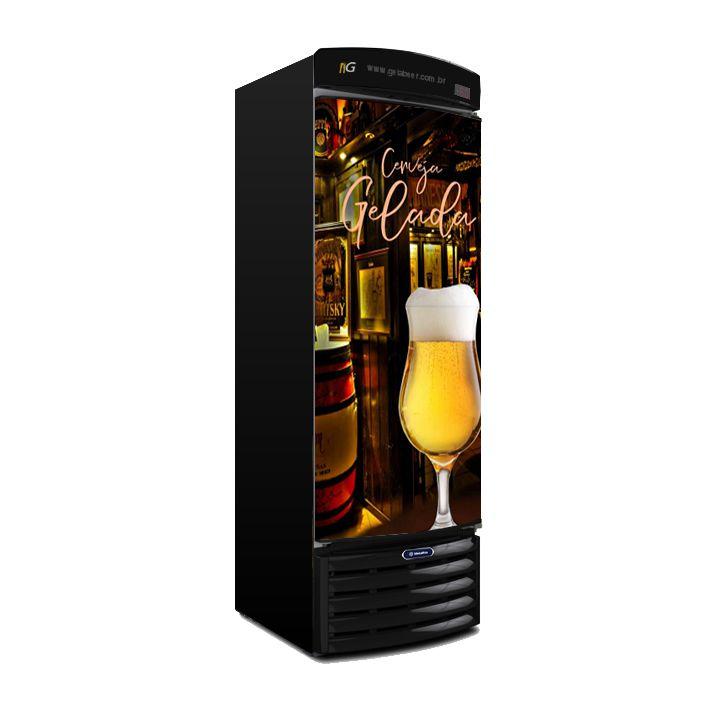Cervejeira 434 Litros VN44 Beer Metalfrio Recondicionado