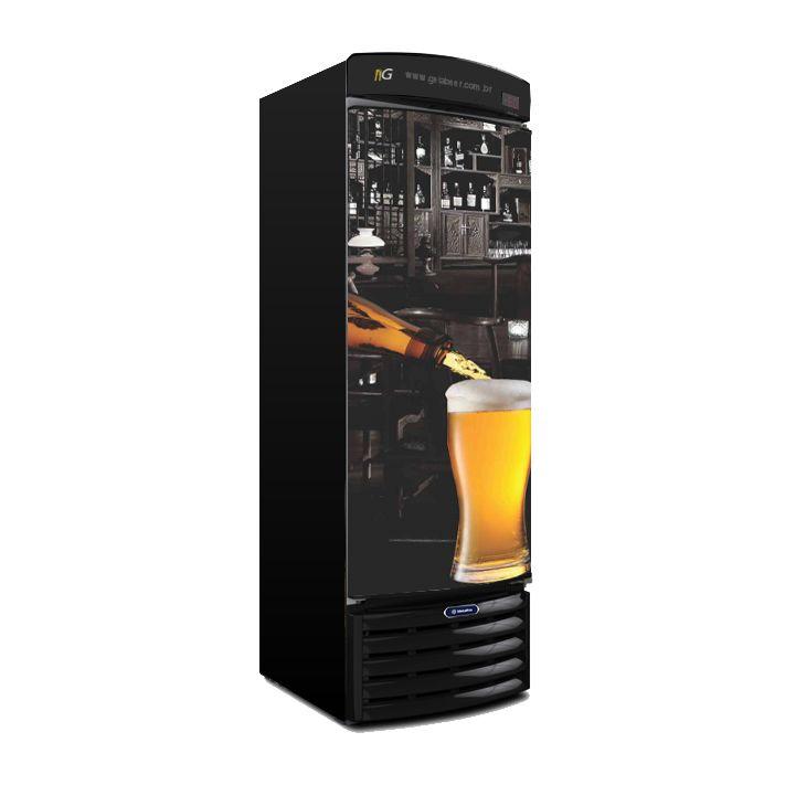 Cervejeira 434 Litros VN44 Black Metalfrio Recondicionado