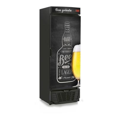 Cervejeira  441 Litros Gelopar Grba-450Qc Adesivo Quadro Negro Preto