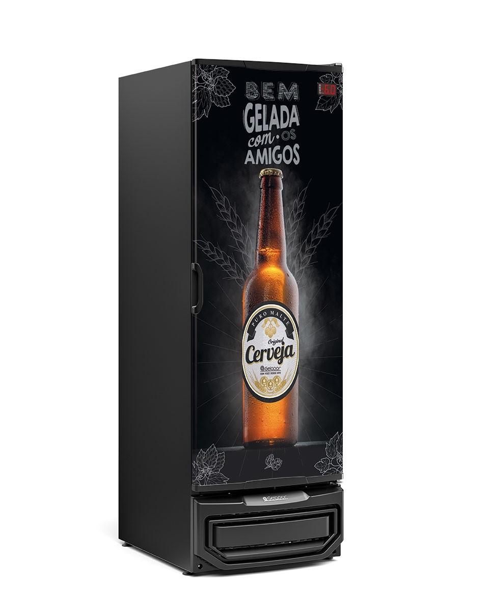 Cervejeira Adesivada GRB-57P 570 Litros Gelopar