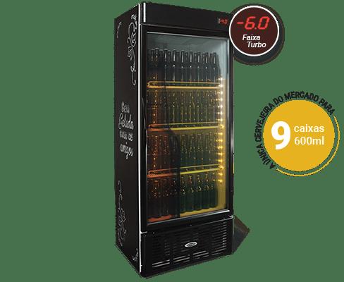 Cervejeira Expositora 600 Litros CRV600PV Conservex