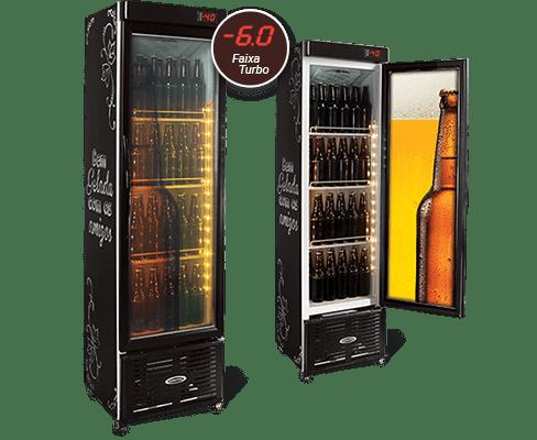 Cervejeira Expositora Slim 250 Litros CRV-250-PV Conservex