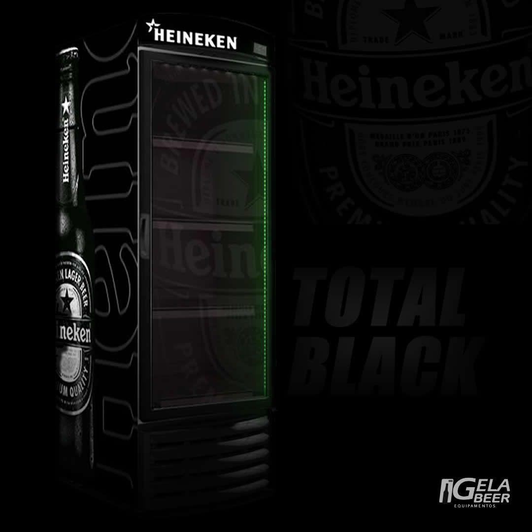 Cervejeira Expositora Total Black VN50R Recondicionado