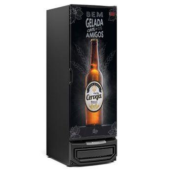 Cervejeira GRB-57P PR Porta Cega em Aço Frost Free Capacidade 570 L Gelopar