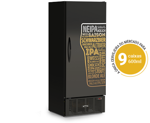 Cervejeira Vertical 600 Litros CRV600LE Conservex