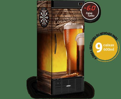 Cervejeira Vertical 600 Litros Pub CRV600P Conservex