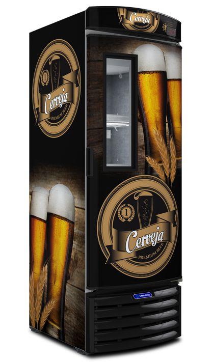 Cervejeira Visor 434L VN44FL Metalfrio