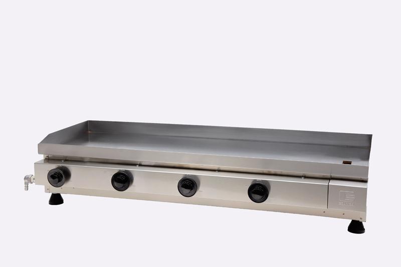 Chapa / Churrasqueira a Gás Linha Prata com 4 Queimador de Alumínio
