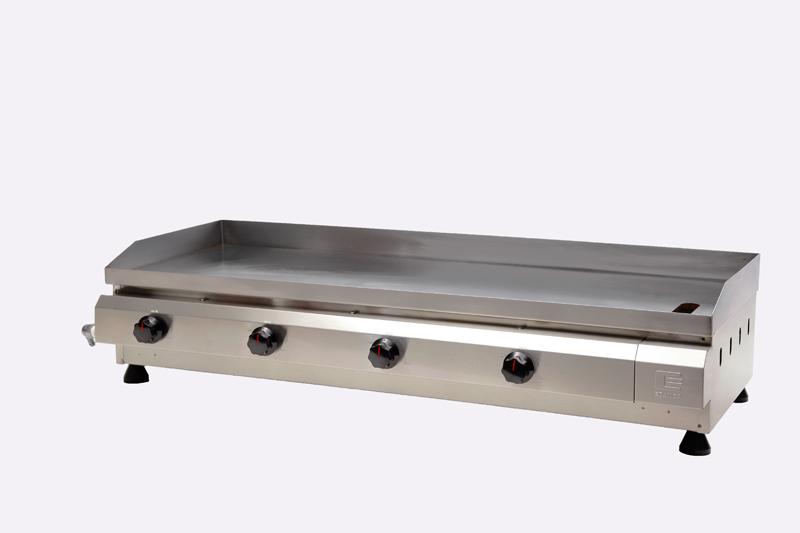 Chapa / Churrasqueira a Gás Linha Prata com 4 Queimador de Alumínio CG-100