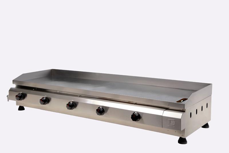 Chapa / Churrasqueira a Gás Linha Prata com 5 Queimador de Alumínio CG-130