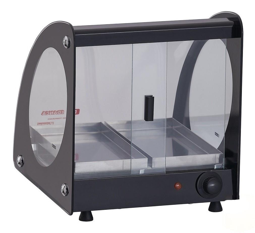 Estufa ou Vitrine Fria Master Alumínio Preta - 220v ou Fria Gelo X EAM-2