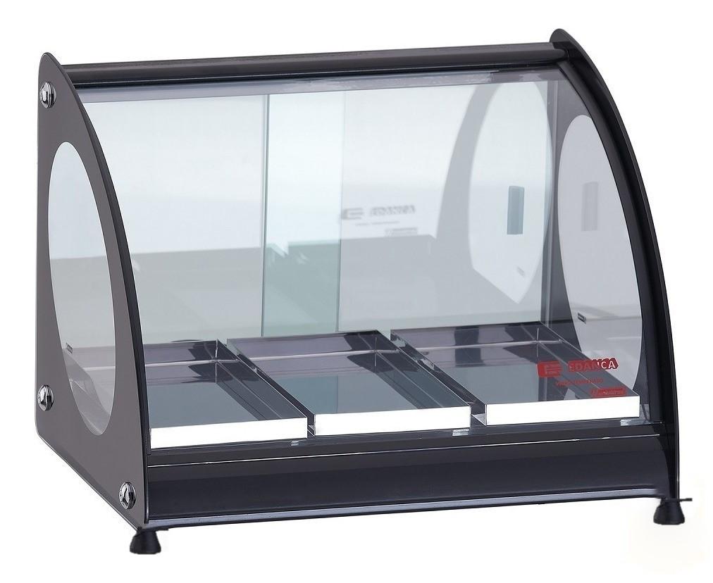 Estufa ou Vitrine Fria Master Alumínio Preta - 220v ou Fria Gelo X EAM-3