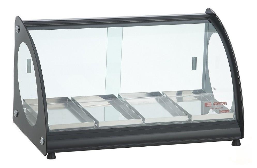 Estufa ou Vitrine Fria Master Alumínio Preta - 220v ou Fria Gelo X EAM-4
