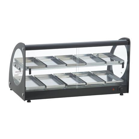Estufa ou Vitrine Fria Master Alumínio Preta - 220v ou Fria Gelo X EAMD-10
