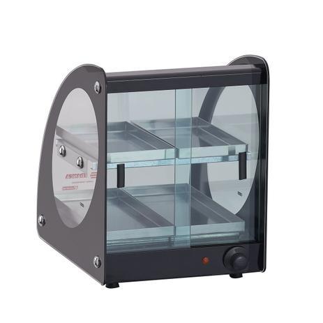 Estufa ou Vitrine Fria Master Alumínio Preta - 220v ou Fria Gelo X EAMD-4