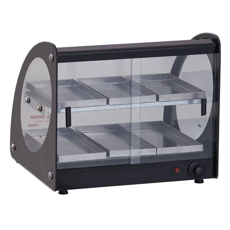 Estufa ou Vitrine Fria Master Alumínio Preta - 220v ou Fria Gelo X EAMD-6