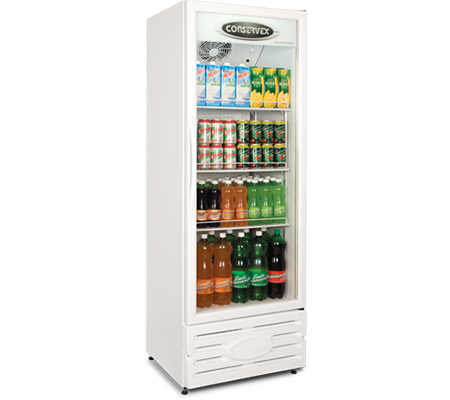 Expositor Refrigerado Vertical 400L Conservex