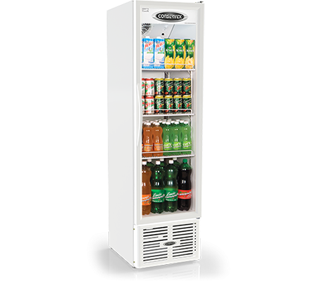 Expositor Refrigerado Vertical Slim 250L Conservex