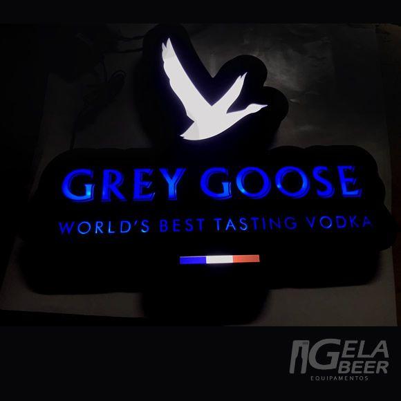 Luminoso de Parede Led Grey Goose