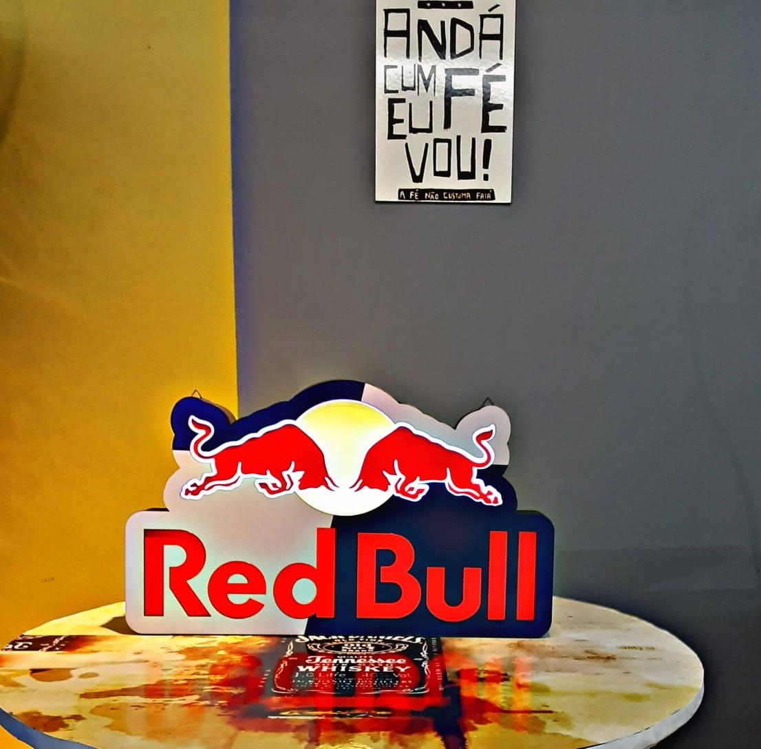 Luminoso Red Bull