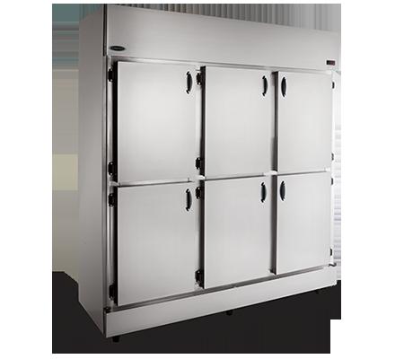 Refrigerador Comercial Inox 6 Portas 1260L RC-6 Conservex