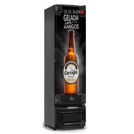 Cervejeira Slim Cega  230 Litros GRB-230EPV-PR