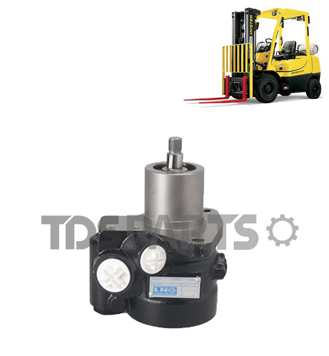 Bomba De Direção Hidráulica Empilhadeira Hyster H60 | H80 | H90   811857 (85bar)