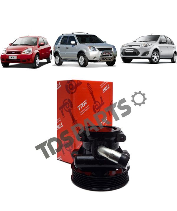 Bomba de direção hidráulica TRW Ford Fiesta | Ecosport | Ka (c/ polia 6pk)