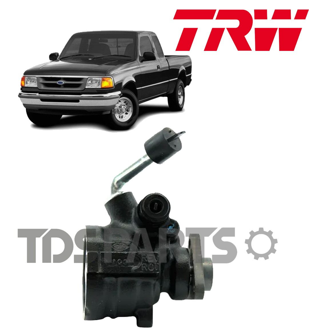 Bomba De Direção Hidráulica TRW Ford Ranger 2.5 / 2.8